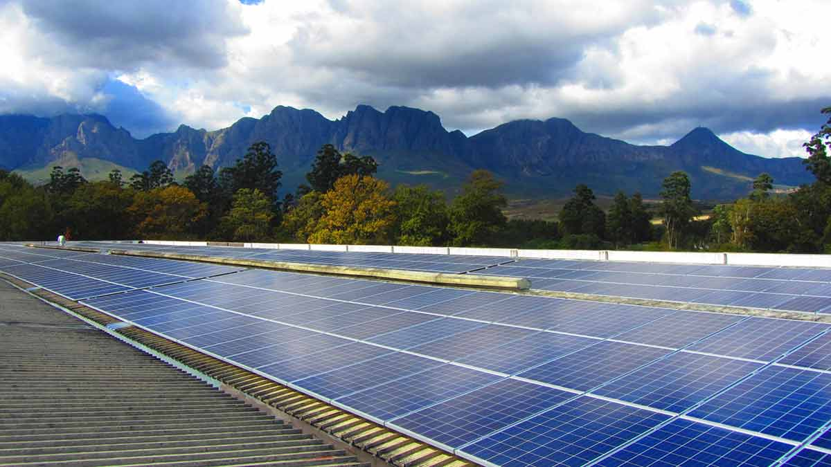 Lourensford - Green Awards - solar photovoltaic