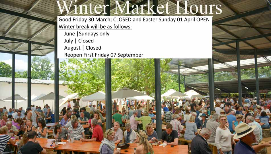 Winter Market hours