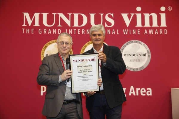 Best White at Mundus Vini