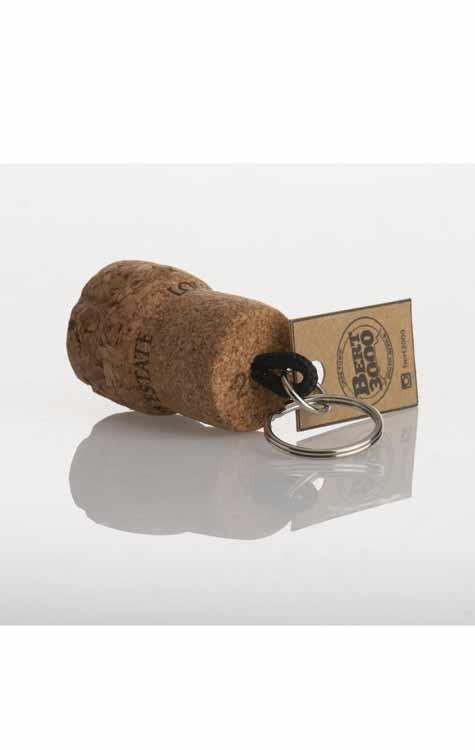 Cork-keyring