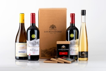 Chocolate and wine pairing box