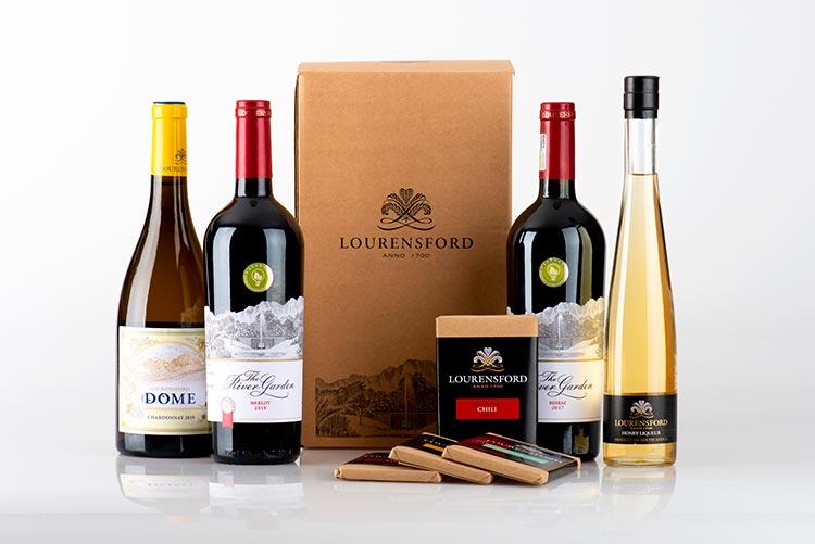 Chocolate and wine pairing box